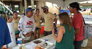 ADSFR 2016: 71 fish tagged, 1,100+ samples collected