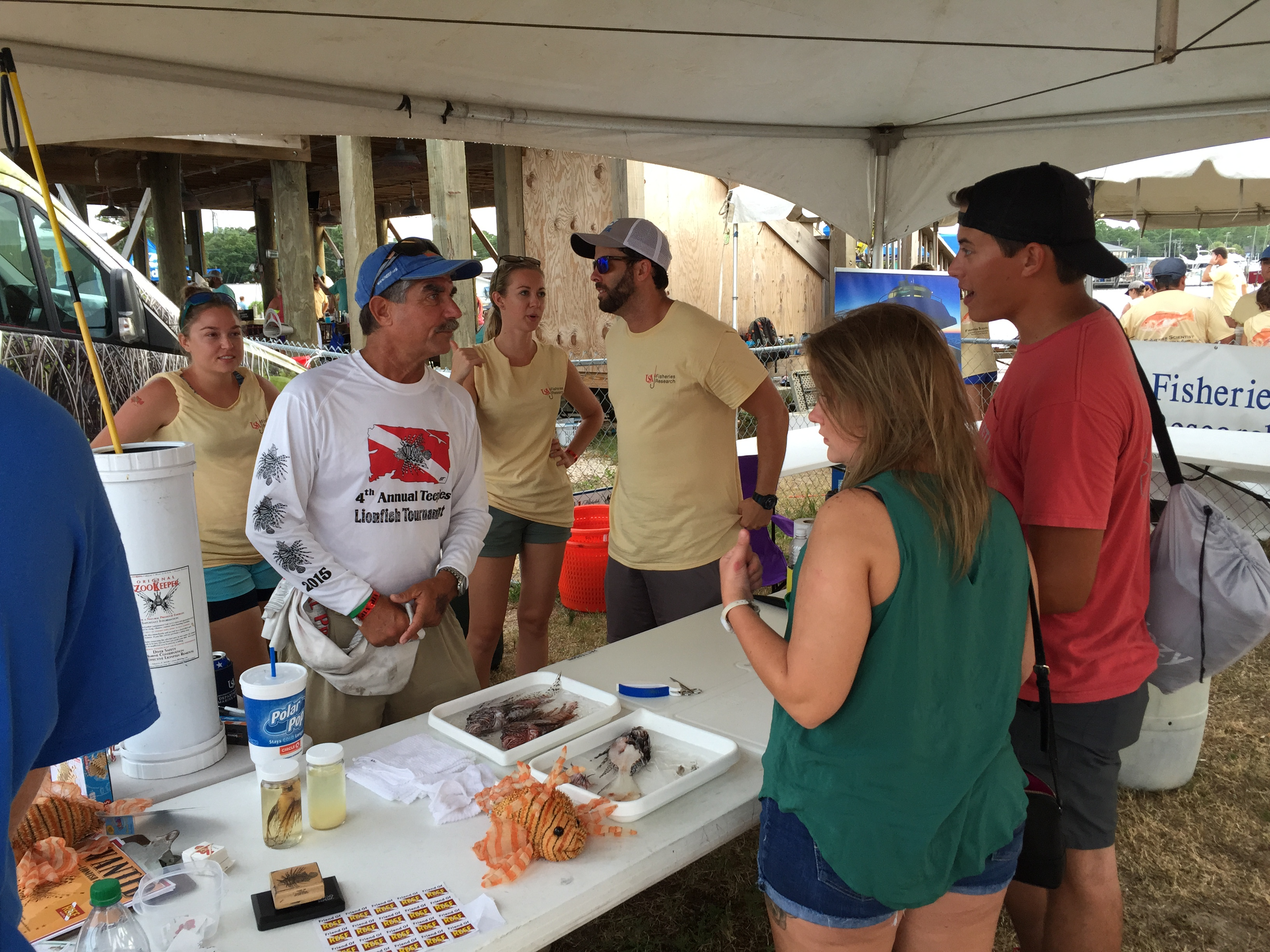 Alabama Deep Sea Fishing Rodeo Outreach