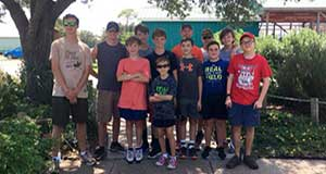 Mobile area Boy Scout Troop donates time and labor to DISL