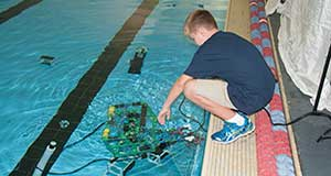 Sea Lab Control, we have lift-off! Underwater robot competition takes off to inner and outer space