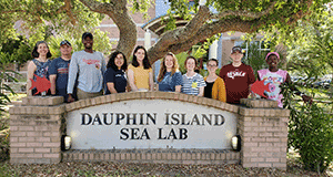 The Sea Lab welcomes NSF REU students to campus for 2019 summer