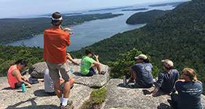Graduate students broaden their horizon with trip to Maine