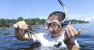 High school students dive in to marine science with DHP