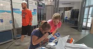 DHP brings lesson to Estuarium for National Estuaries Day